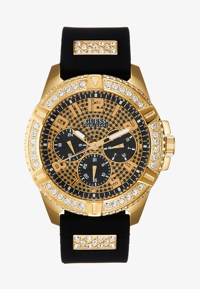 MENS SPORT - Chronograph watch - black/gold