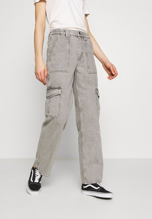 WASH SKATE - Relaxed fit jeans - grey
