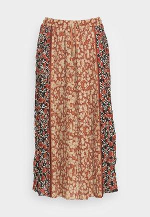 SKIRT PRINT MIX - Pleated skirt - multi-coloured