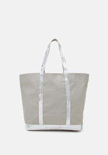 CABAS - Shopping bag - silver-coloured