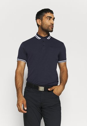 BRUCE REGULAR FIT - Polo shirt - navy melange