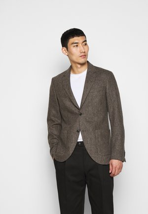 JAMOT - Blazer jacket - gold brown