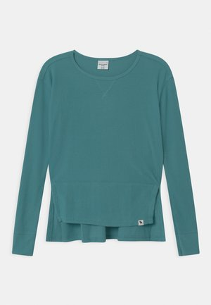 OVERSIZED - Long sleeved top - brittany blue