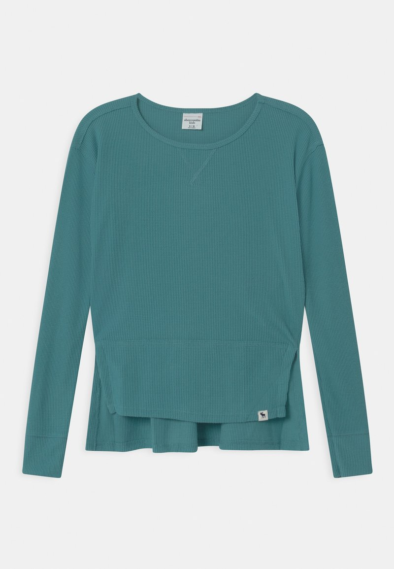 Abercrombie & Fitch - OVERSIZED - Long sleeved top - brittany blue
