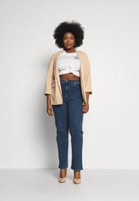 Wrangler Plus - PLUS - Straight leg jeans - dark blue - 1