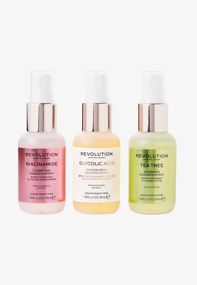 Revolution Skincare - MINI ESSENCE SPRAY COLLECTION: SO  SOOTHING - Gesichtspflegeset - -