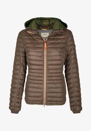 MIT KAPUZE - Winter jacket - brown