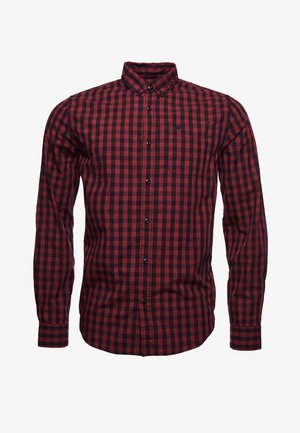 CLASSIC LONDON - Shirt - red marl gingham