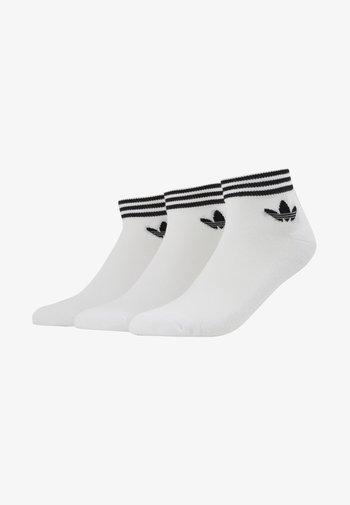 3 PACK - Socken - white/black