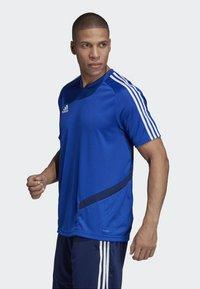 adidas Performance - TIRO - T-Shirt print - blue - 2