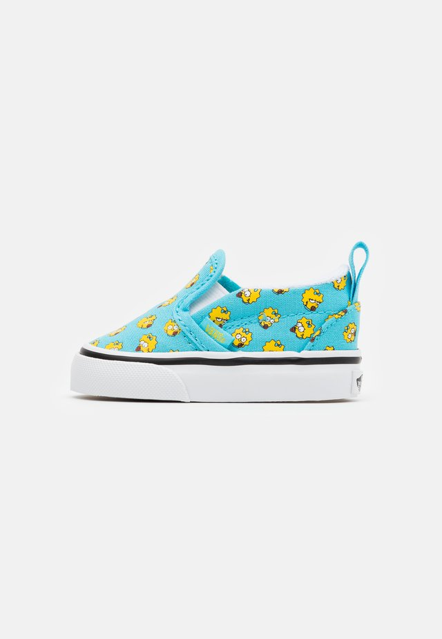 THE SIMPSONS  - Matalavartiset tennarit - turquoise