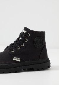Palladium - PAMPA - Lace-up ankle boots - black - 2