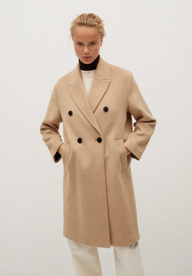 Mango - BARTOLI - Classic coat - mittelbraun