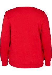 Zizzi - Sweatshirt - red - 2