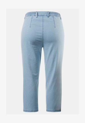Denim shorts - hell bleached