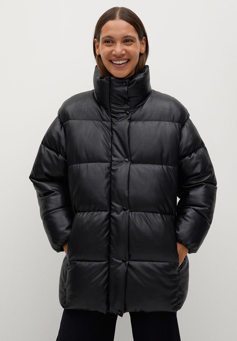 Mango - Winter jacket - schwarz