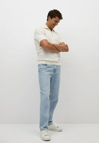Mango - Relaxed fit jeans - hellblau - 1
