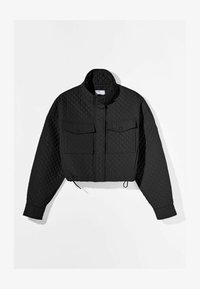 Bershka - Light jacket - black - 5