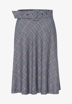 Pleated skirt - dunkelblau