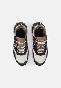 Hummel - MARATHONA REACH LX UNISEX - Sneakers - navy/woodrose - 3