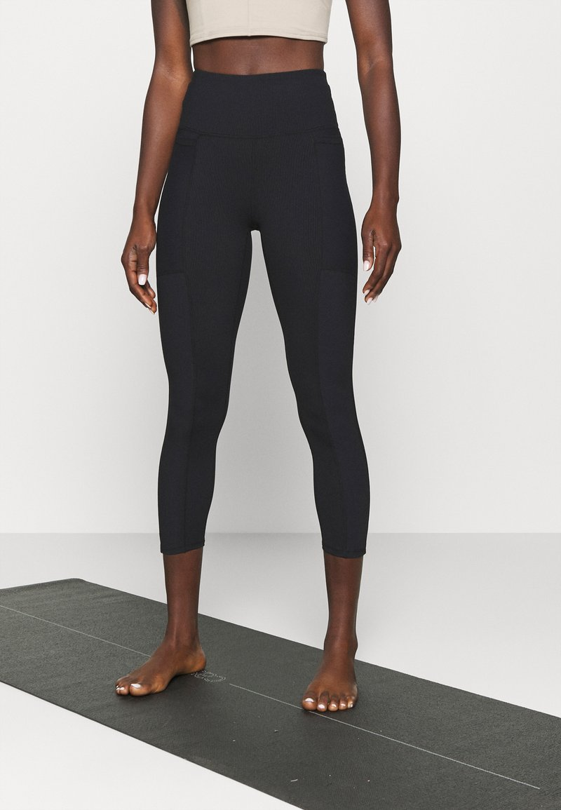 Cotton On Body - POCKET 7/8 - Leggings - black
