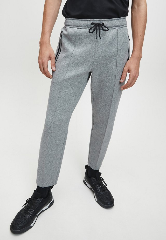 Tracksuit bottoms - mid grey heather