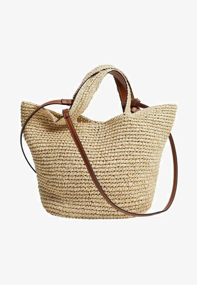 Mango - Handbag - beige