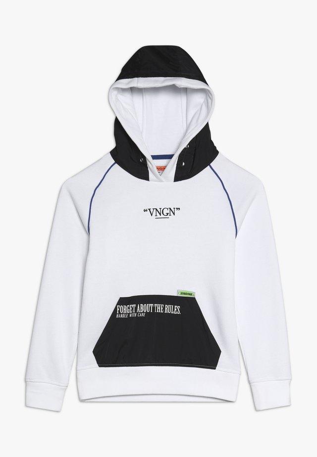 NANDER - Hættetrøjer - real white