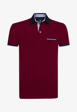 VINCENZO - Polo shirt - bordeaux