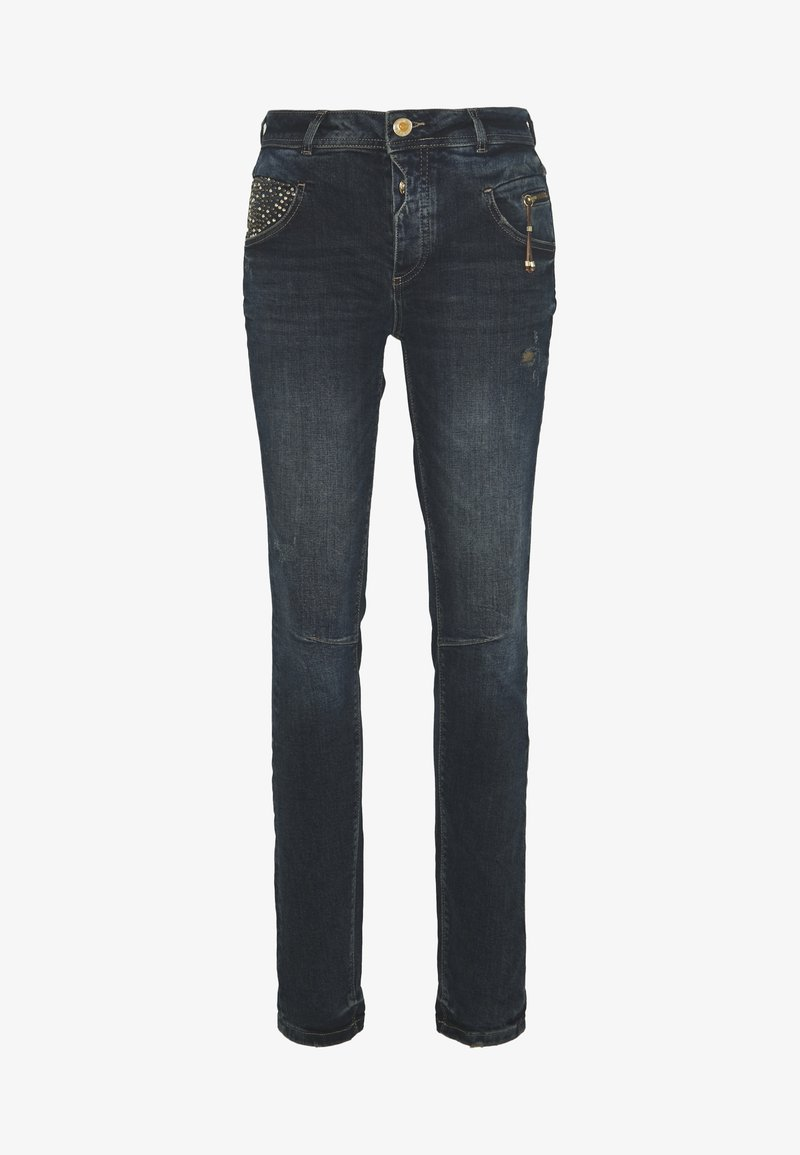 Mos Mosh - NELLY HERITAGE JEANS - Relaxed fit jeans - blue