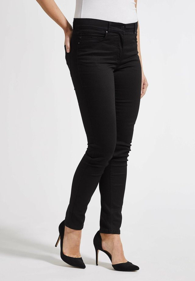 AGATHA - Jeans slim fit - blackdenim