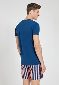Shiwi - TROPICS PLACED PRINT - Print T-shirt - poseidon blue - 2