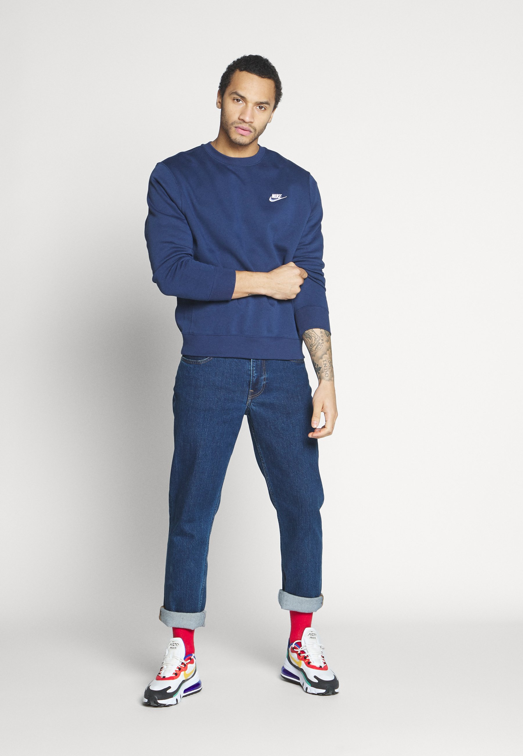 Nike Sportswear Club - Sweatshirt Midnight Navy/mørkeblå