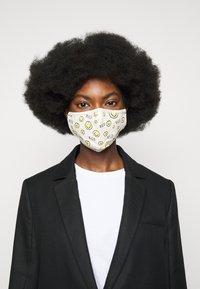 WALD - ALL OVER MASK - Masque en tissu - white - 0