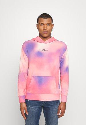 WASH UNISEX - Mikina - multicolor/pink wash