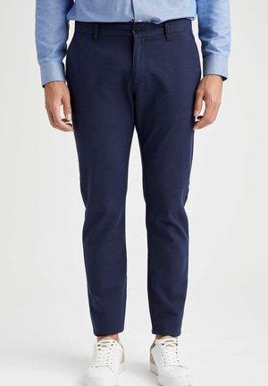 Spodnie materiałowe - indigo