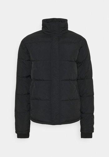 UNISEX ESSENTIAL RECYCLED PUFFER JACKET - Winter jacket - black