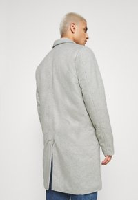 Denim Project - COAT - Klassisk kappa / rock - mottled light grey - 2