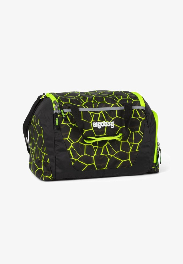 SPECIAL EDITION - Sports bag - black, yellow