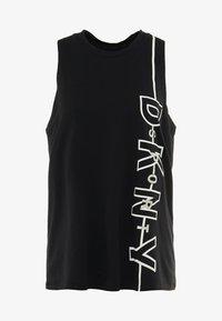 DKNY - TANK REFLECTIVE LOGO - Top - black - 3
