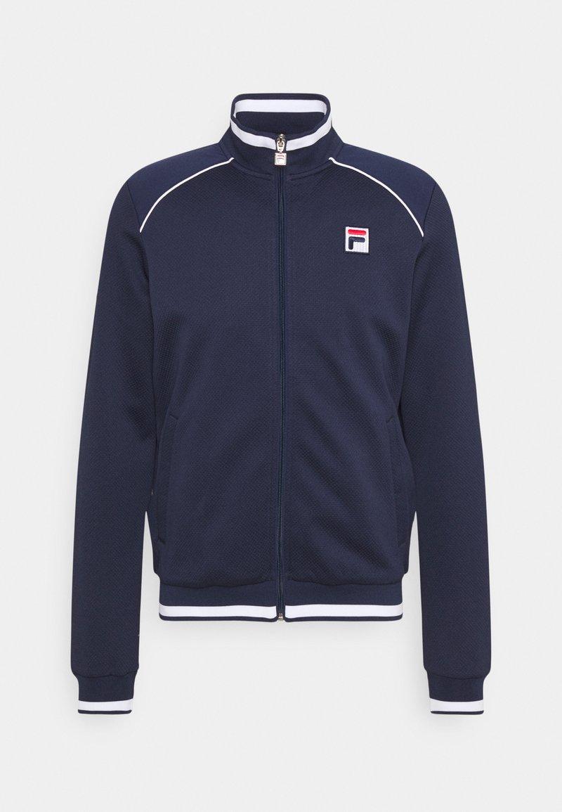 Fila - SPIKE - Sportovní bunda - peacoat blue