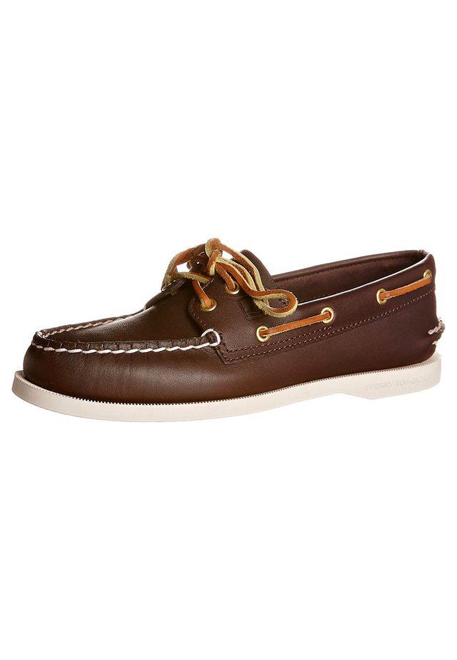 AO 2-EYE - Scarpe da barca - classic brown