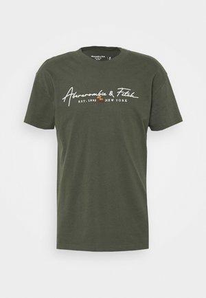 LOGOCON SCRIPT - Print T-shirt - green