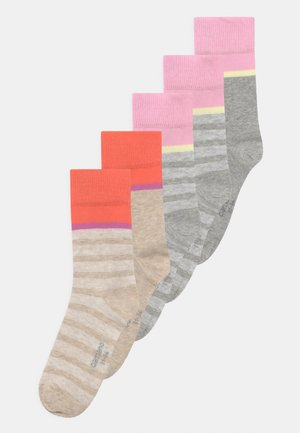 ONLINE CHILDREN 5 PACK - Socks - fog melange