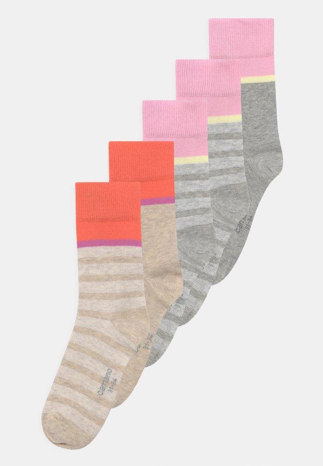 ONLINE CHILDREN 5 PACK - Socks - fog melange