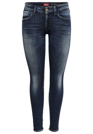 ONLY SKINNY FIT JEANS ONLALBA LIFE REG ANKLE - Jeans Skinny Fit - dark blue denim