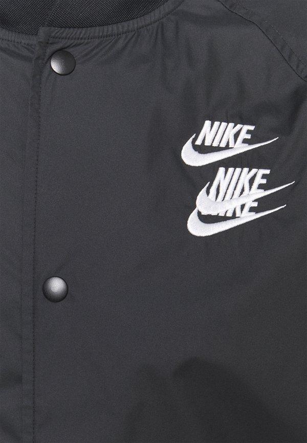 Nike Sportswear Kurtka wiosenna - black/white/czarny Odzież Męska WNNI
