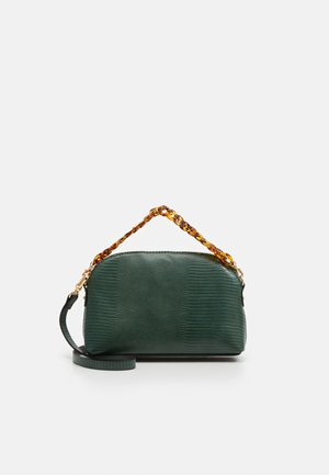 CROSSBODY BAG TWIST - Schoudertas - green