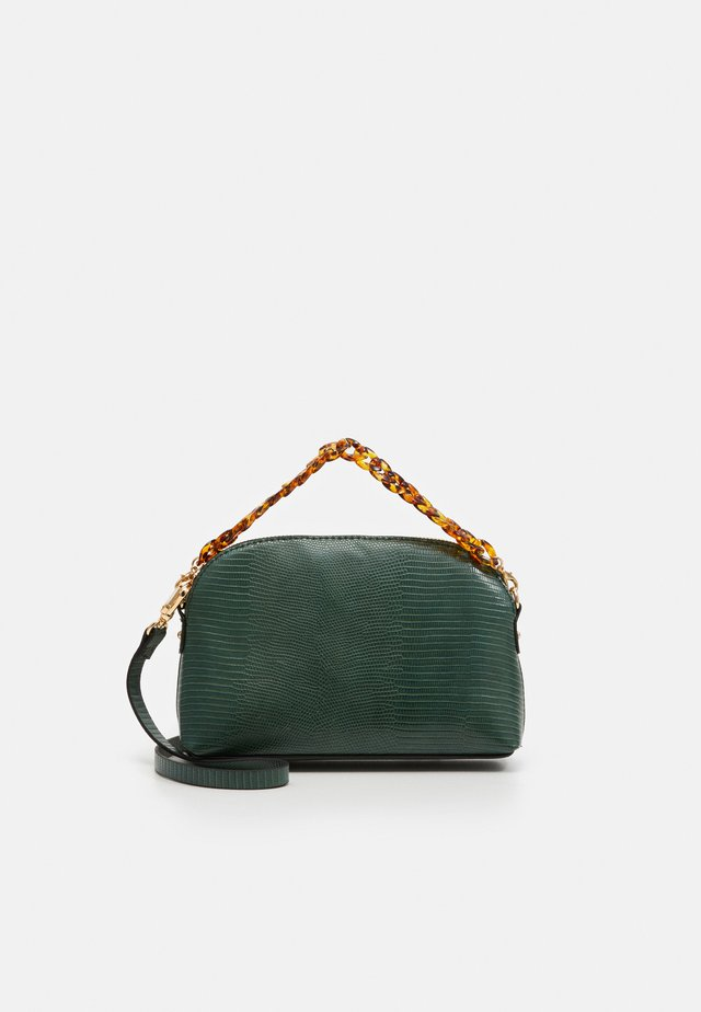 CROSSBODY BAG TWIST - Across body bag - green