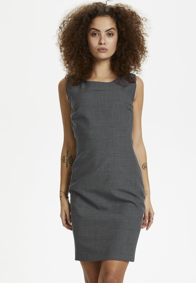Robe fourreau - grey melange